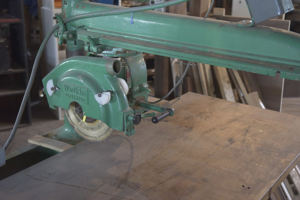 3hp radial arm saw.