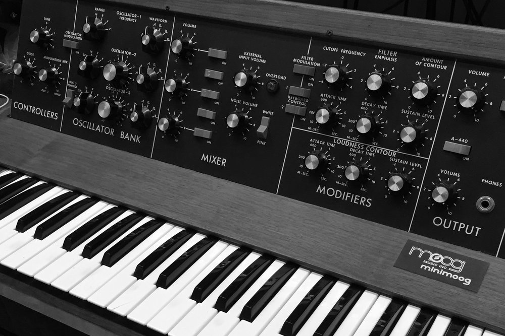 Synthesizers are basically the best. They sound like the future, they are fun to play and when you hook them up to drum machines you don't need friends. Until they break... That's where we come in. We offer restoration, repair and general maintenance on all manner of vintage and modern synthesizers like Roland, Korg, Yamaha, Moog, Sequential Circuits, DSI, Elektron and many more.
