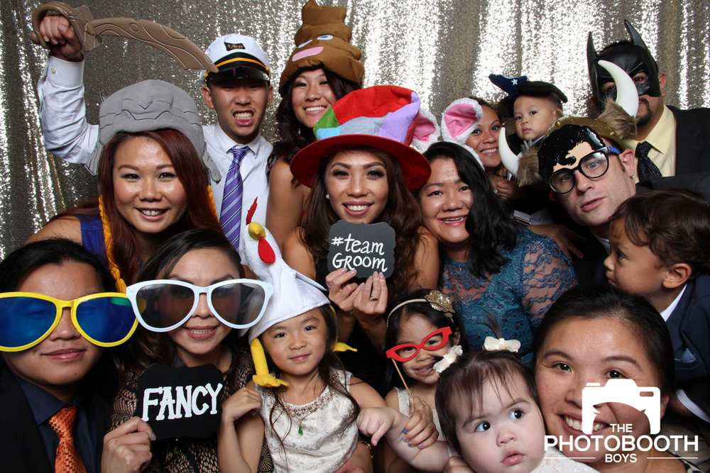 Squad Up - Whenever there is an corporate event, birthday party, celebration party, wedding, etc, chances are there will be a lot of people there. An open air photo booth provides an ample amount of space so your entire squad can be there with you, taking photos.
