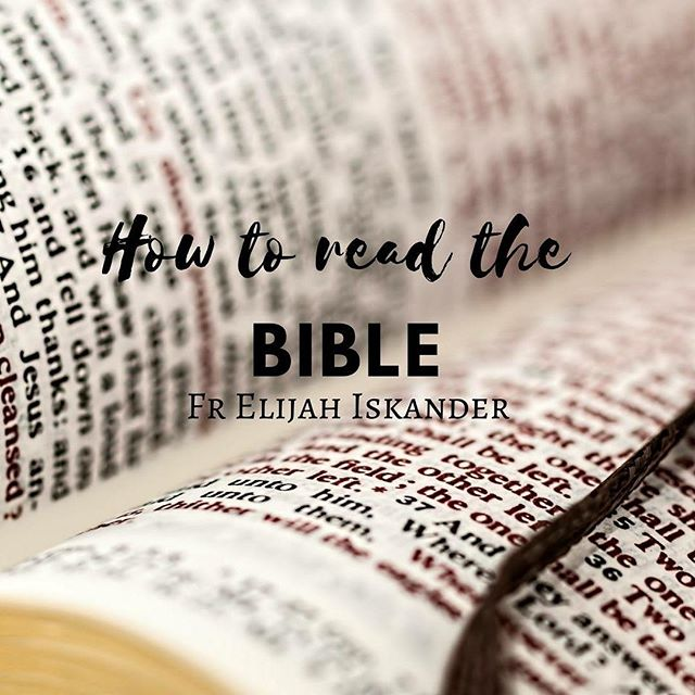 """*UR LIVE* Join us on Wednesday at 8pm UGT+10 for our next live session with Fr Elijah Iskander on """"How To Read The Bible"""". Prepare your questions and send them through to our facebook page for Fr Elijah to answer!"""
