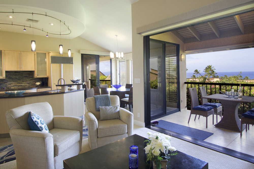 The inside-outside living area