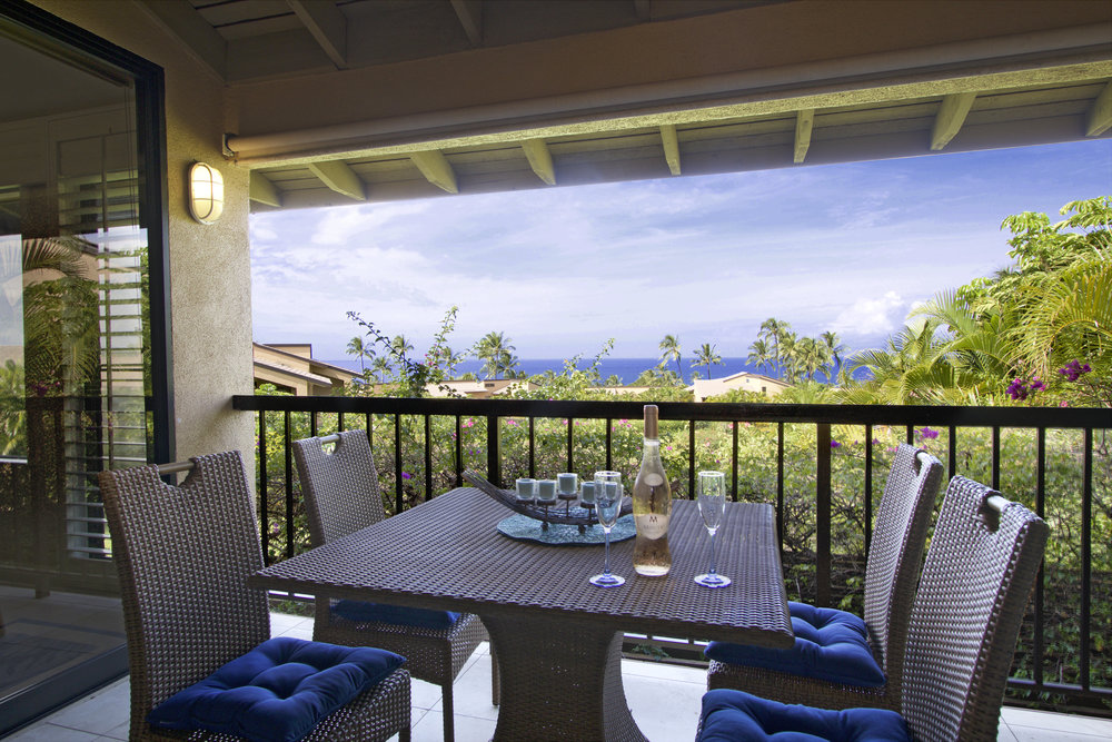 The Oceanview from the private dining lanai