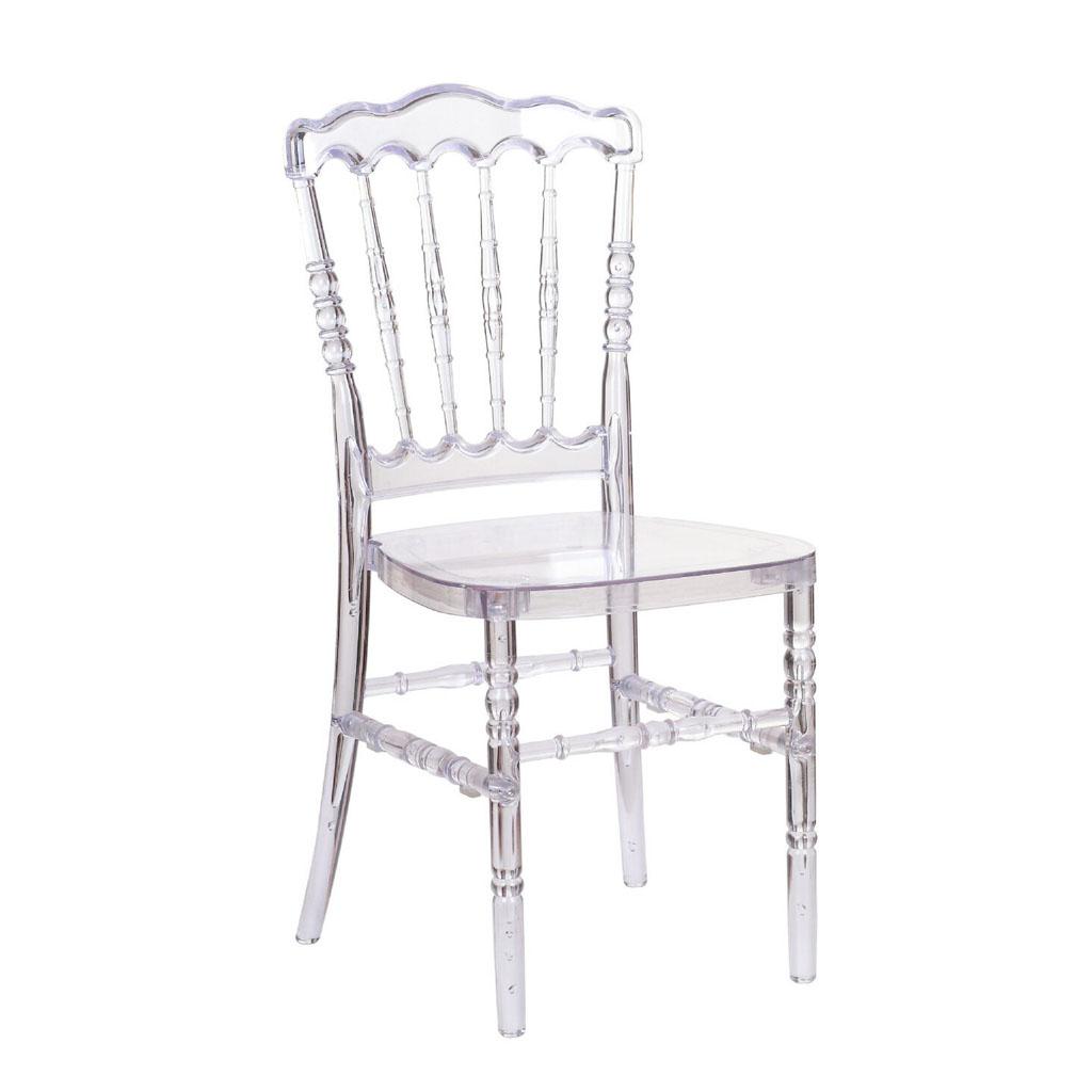 Crystal Clear Napoleon Chair