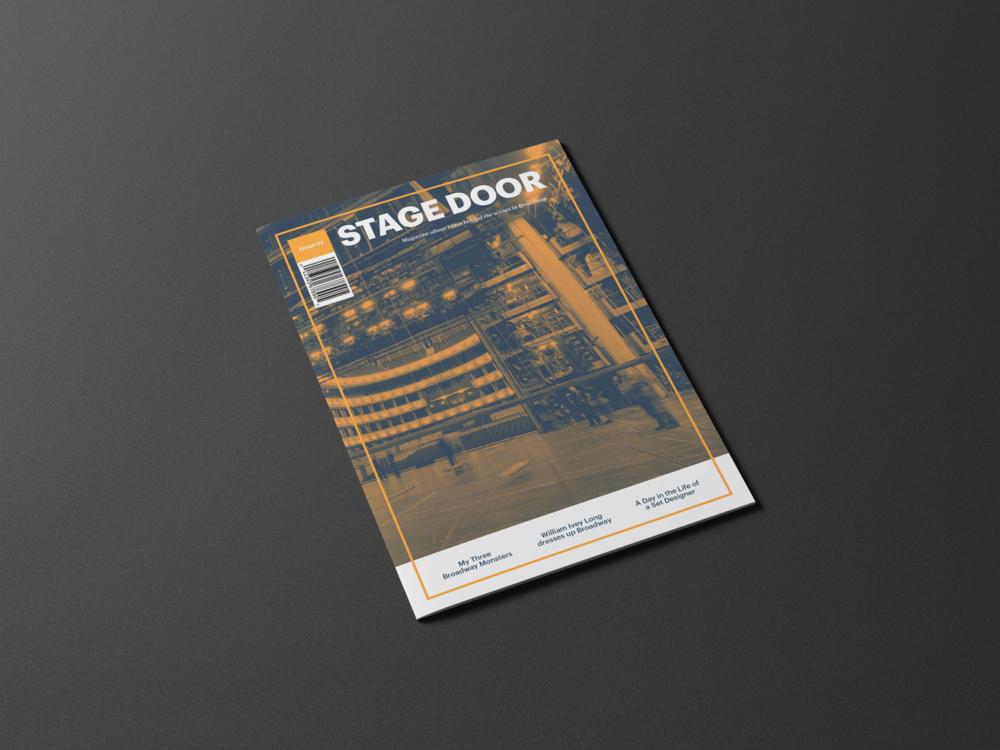 single cover.png & Stage Door Magazine \u2014 Linka Lin