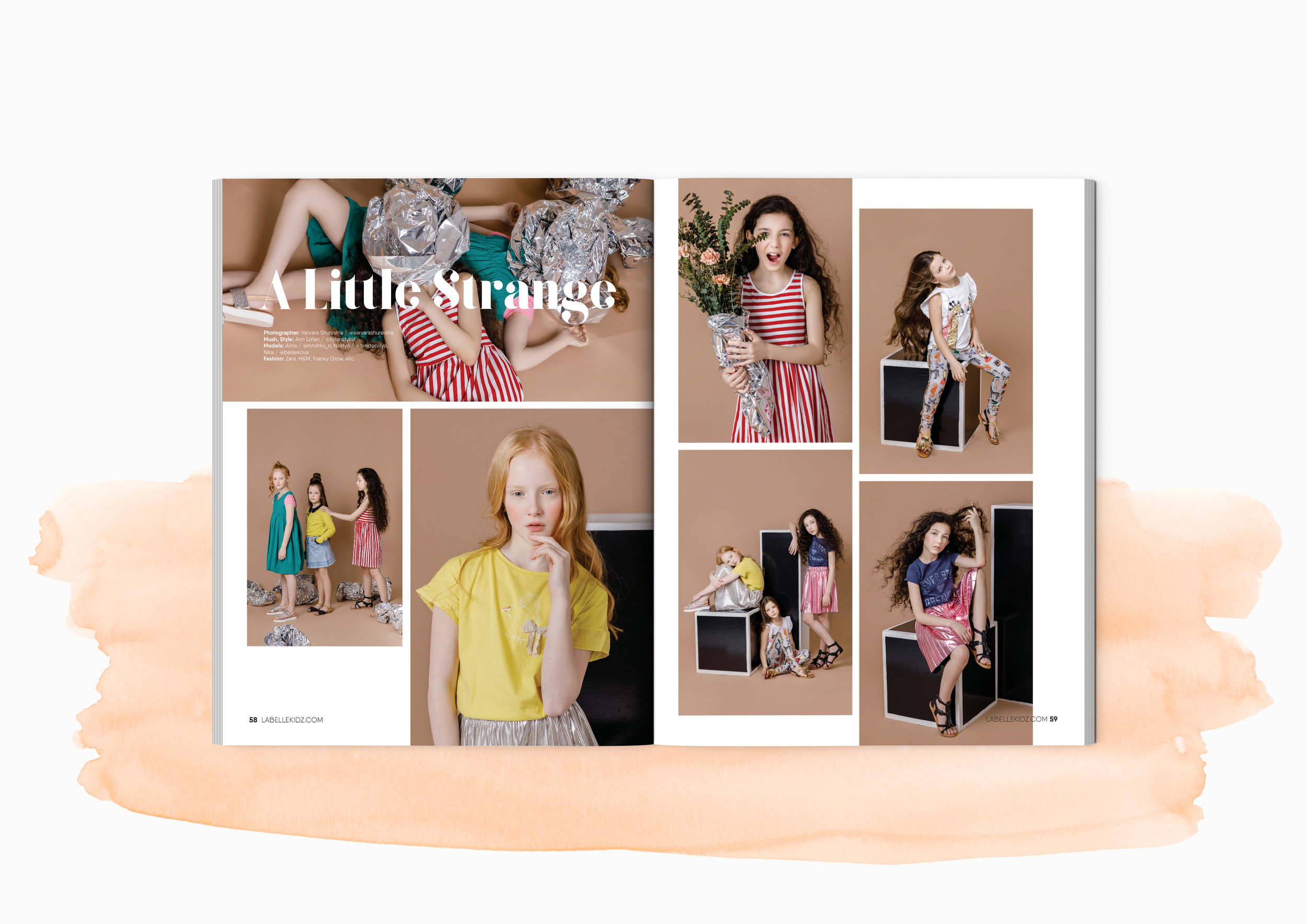 La Belle Kidz Teen Fashion Magazine Linka Lin