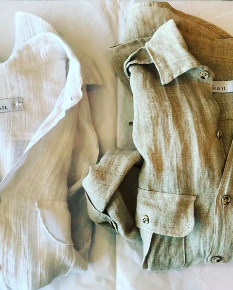 TRAIL safari shirt // SALT + SAND