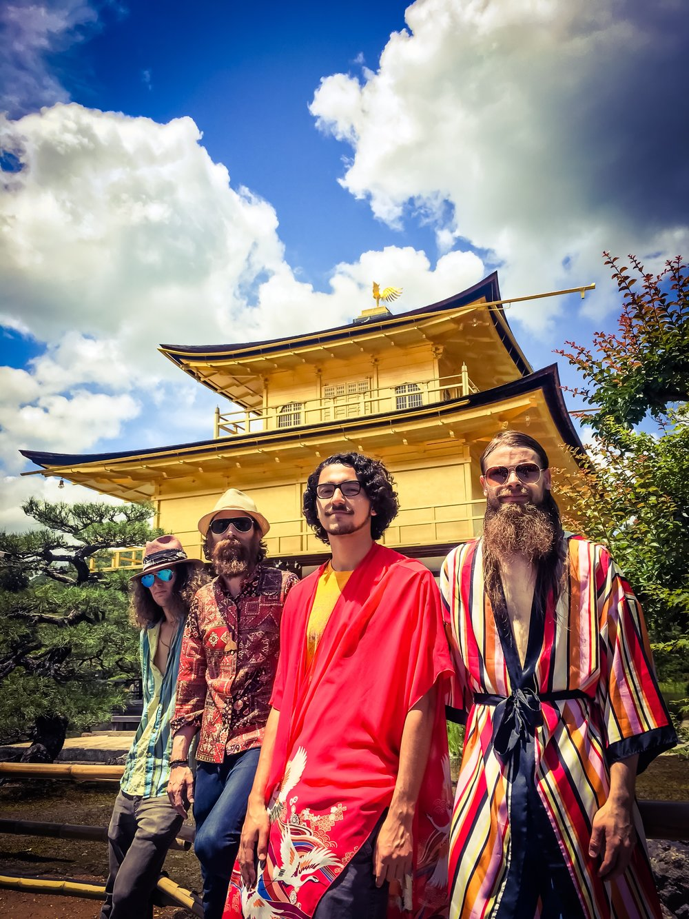 DESTINY Video Shoot at Kinkaku-Ji Temple in Tokyo