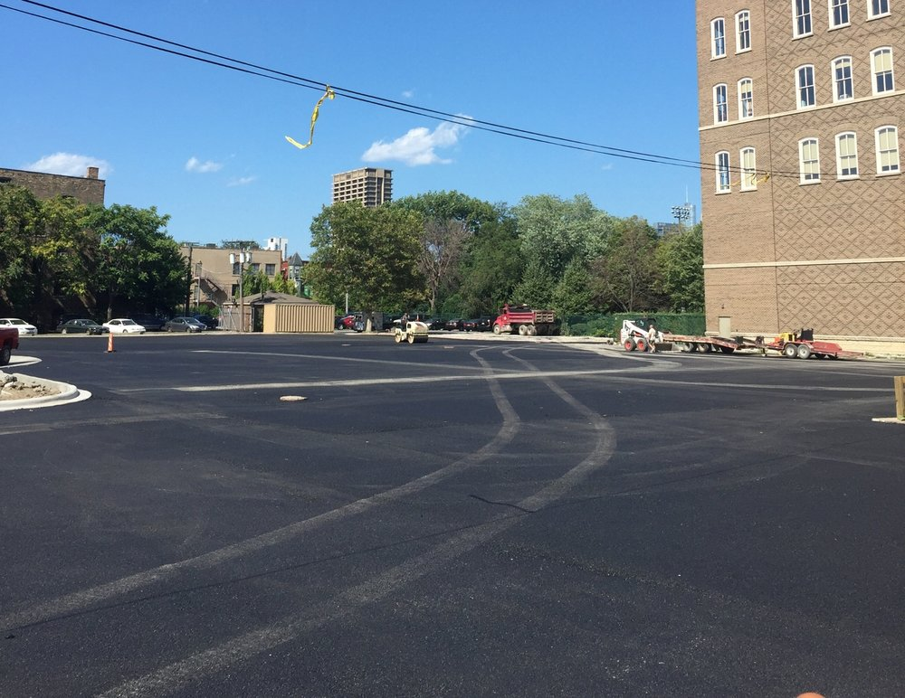LARGE PARKING LOT PROJECT FOR CHICAGO CHURCH