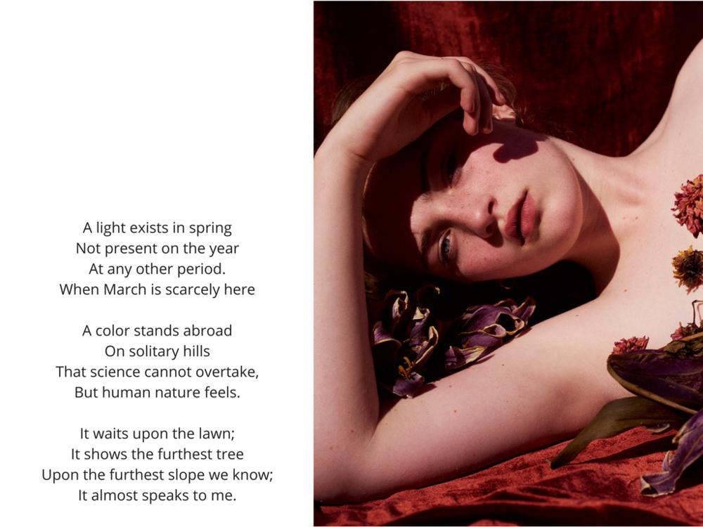 Julia Campbell-Gilles shot by Kristin Vicari