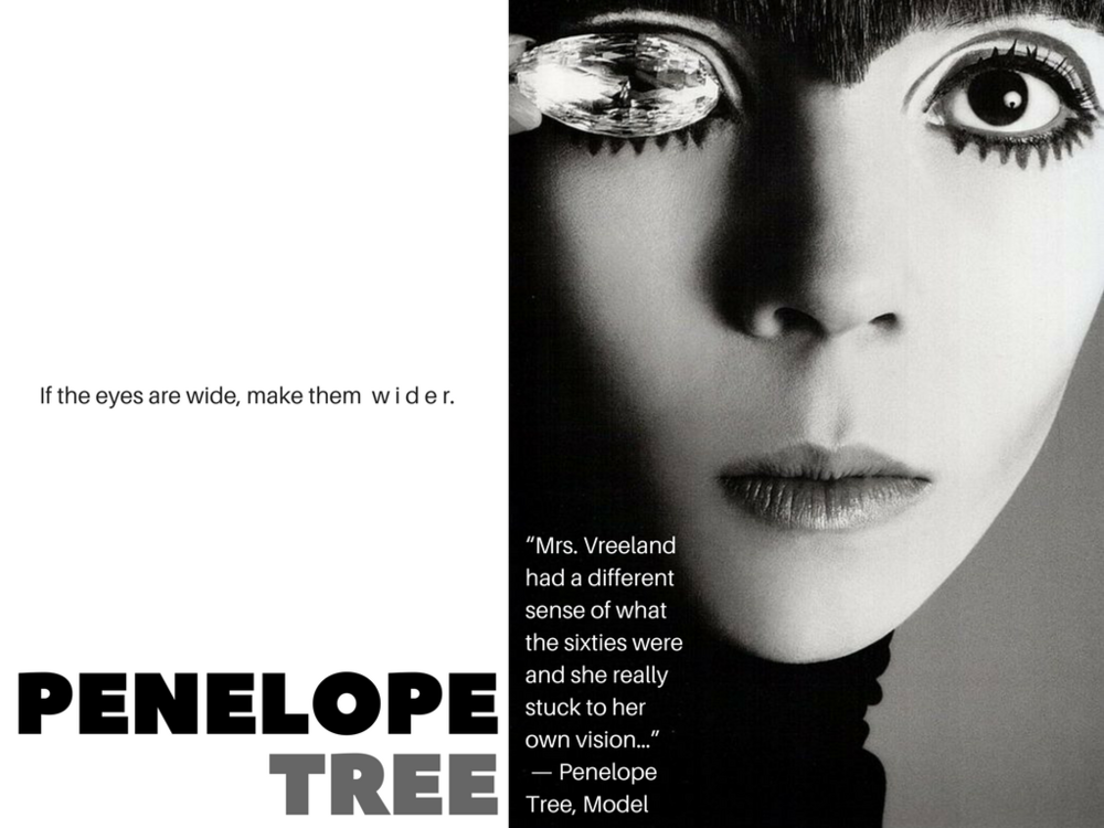 Penelope Tree by Richard Avedon
