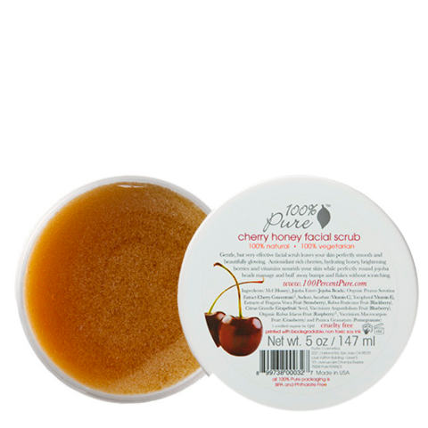 100% Pure Cherry Honey Facial Scrub