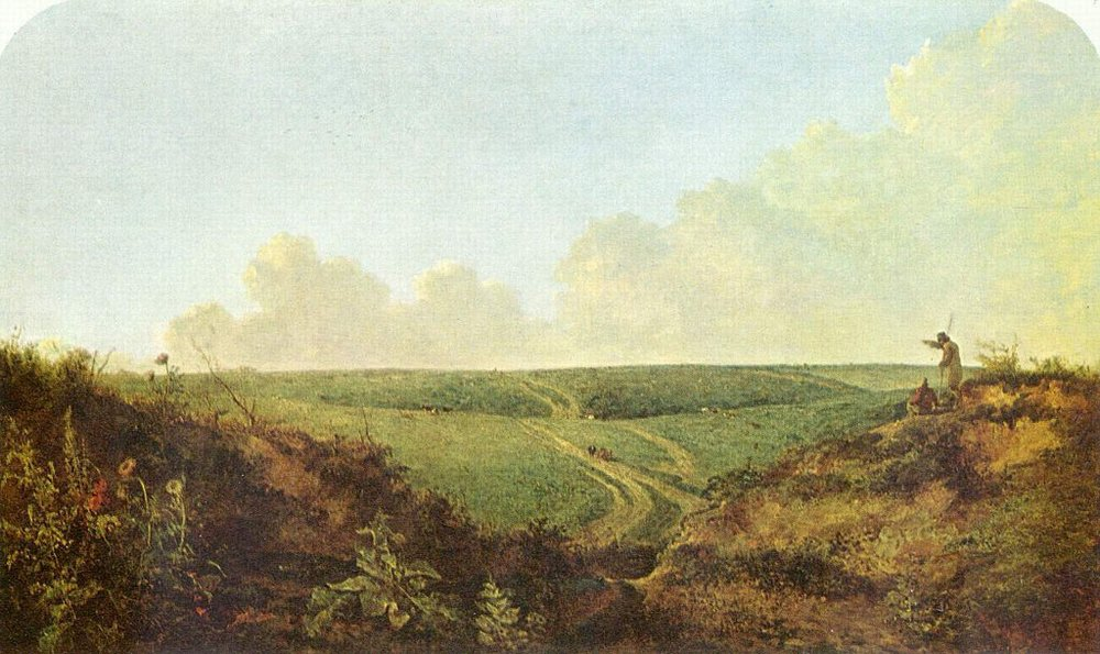 Mousehold Heath, Norwich by John Crome 1818 - 1820 [Public domain], via Wikimedia Commons