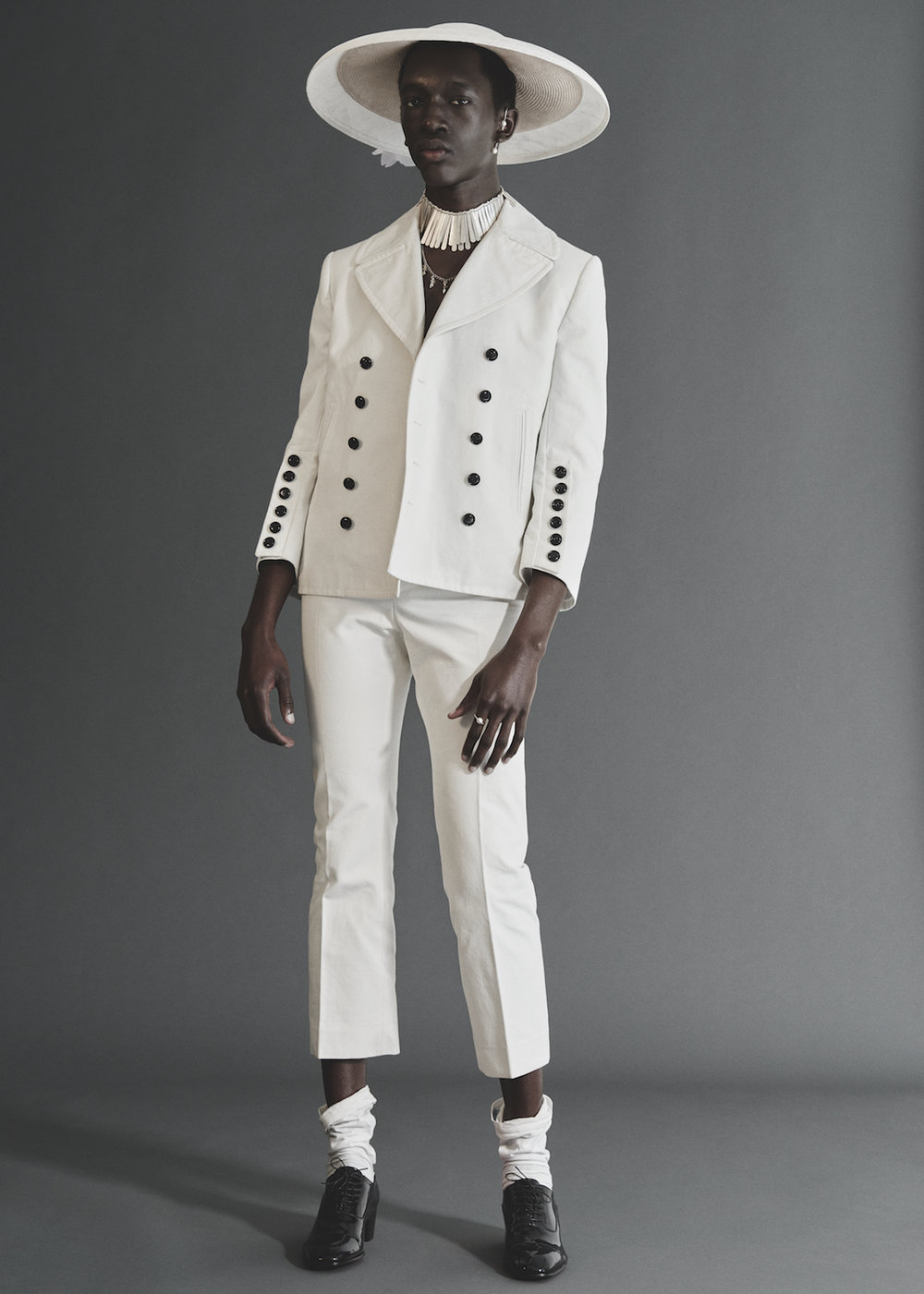Wilson Oryema for Hunger Magazine, shot by Alastair Strong.