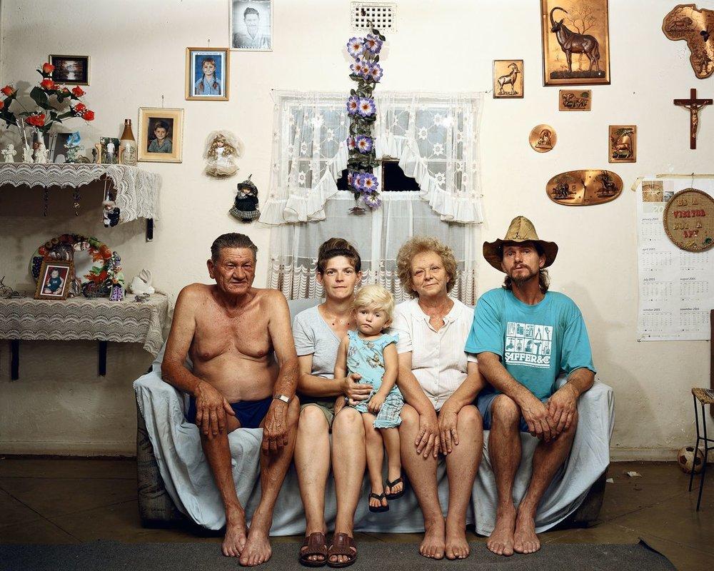 Image: Pieter Hugo from the 2007 series  Messina/Mussina | via  We Folk