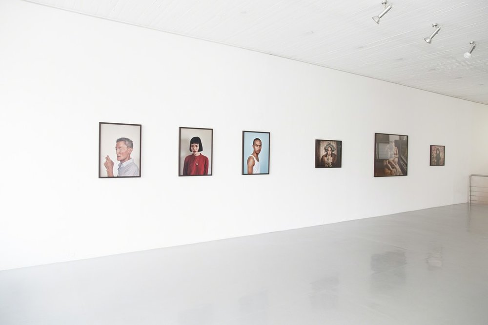 Pieter Hugo works on display from his solo show   Peripheral Dispatches   at  PRISKA PASQUER  in Cologne