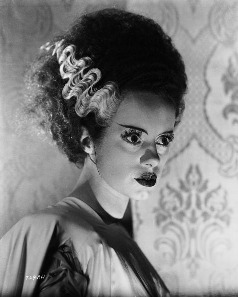 Elsa Lanchester in Bride of Frankenstein, 1935.