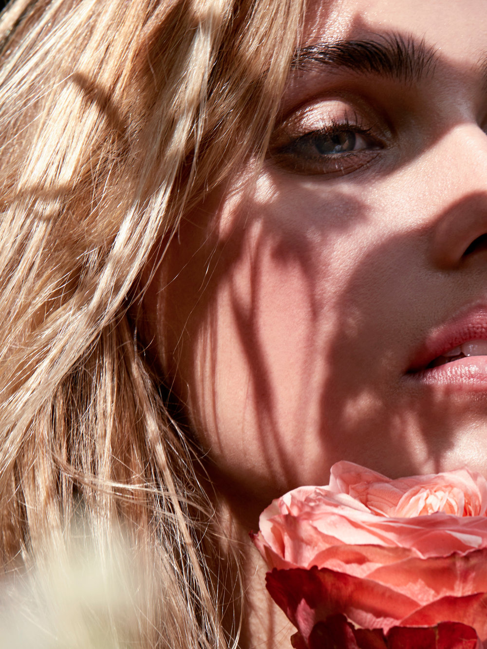 Lips:  Ilia Perfect Day lipstick  Cheeks: Elate Clean Cosmetics Powder Blush in Titian