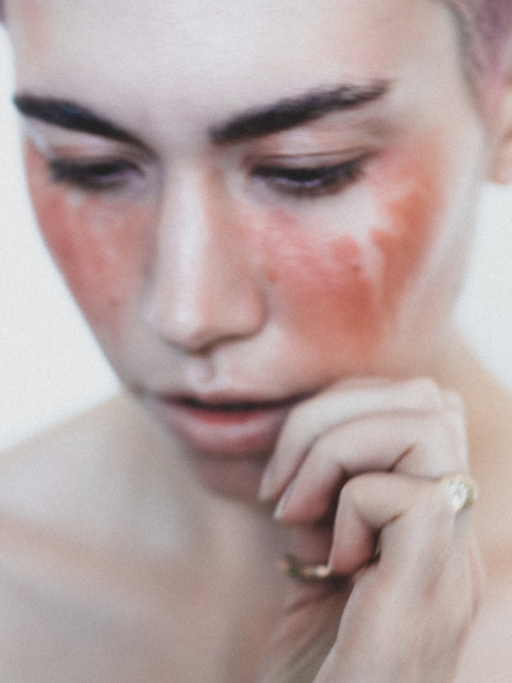 Blush: Hiro Cosmetics Mineral Blush in  A Clockwork Peach