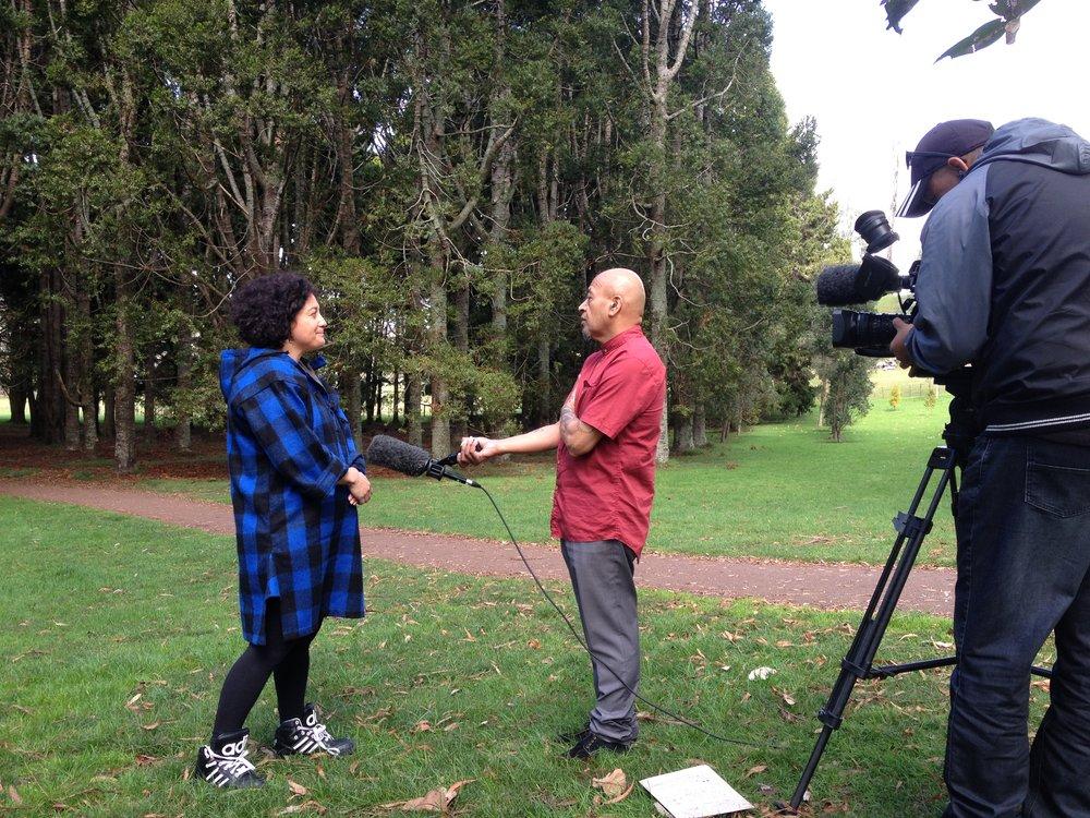 TKP IV Maori TV Nathan Exhibition.JPG