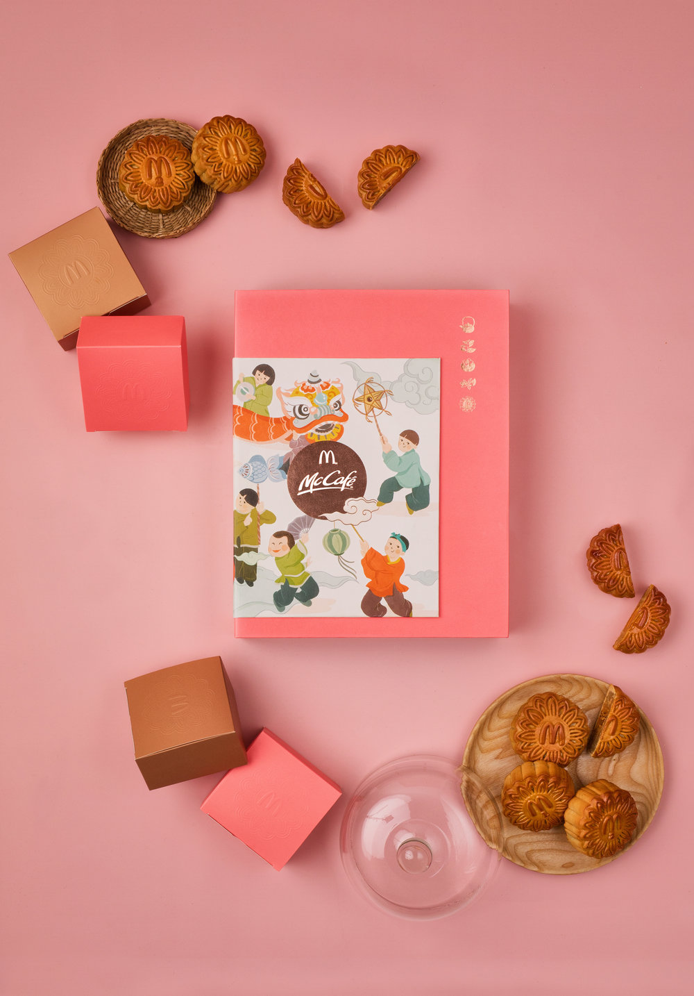McDonald's Vietnam Mooncake Design 2018 photography by thatsluminous