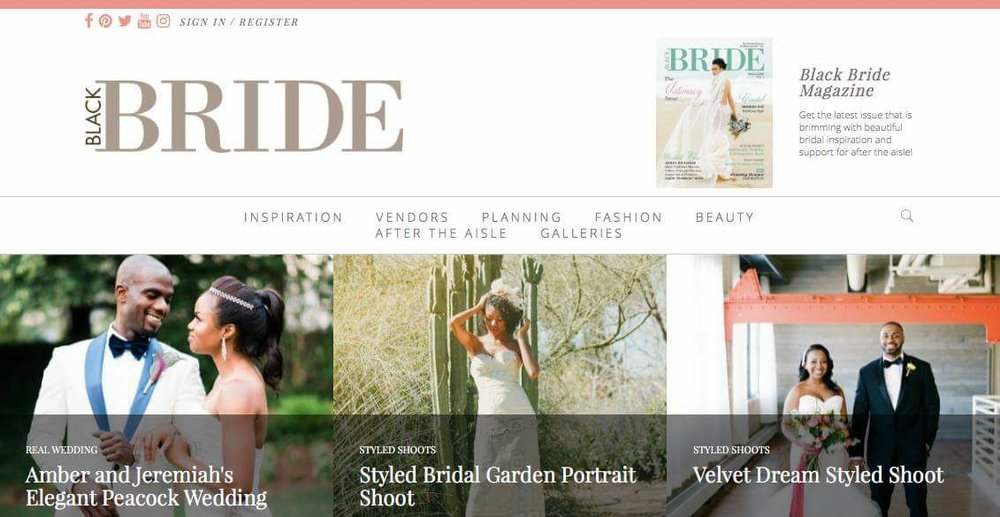 Styled Bridal Garden Portrait Shoot -