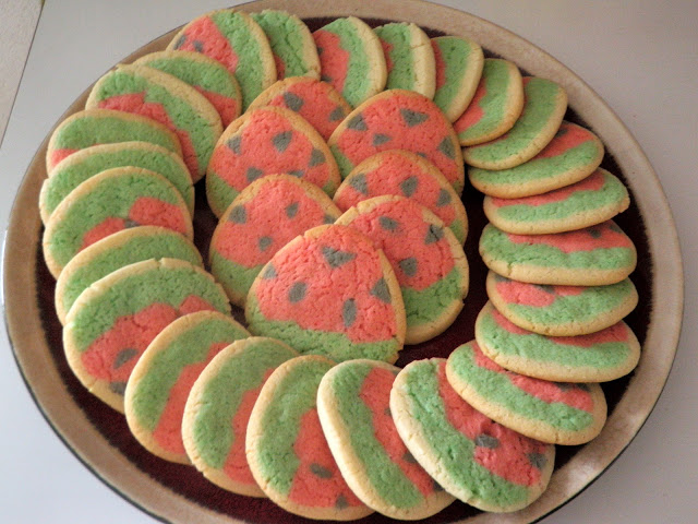 "HOW TO COOK: SUGAR COOKIE ""WATERMELONS"""
