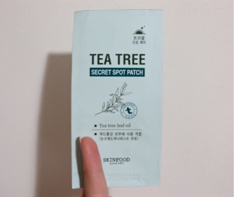 "PRODUCT REVIEW: SKINFOOD ""TEA TREE SECRET SPOT PATCH"""