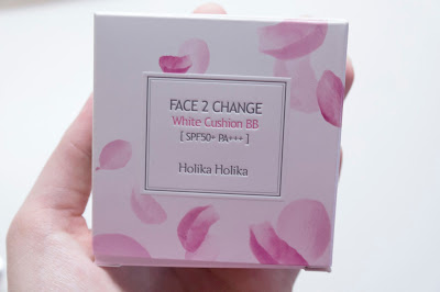 "PRODUCT REVIEW: HOLIKA HOLIKA ""FACE 2 CHANGE WHITE CUSHION BB CREAM"""