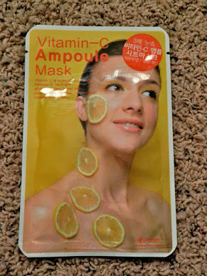 "PRODUCT REVIEW: HBMIC ""VITAMIN C AMPULE MASK"""