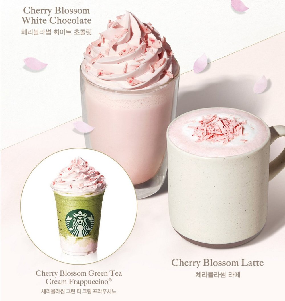Online ad for Starbucks this year