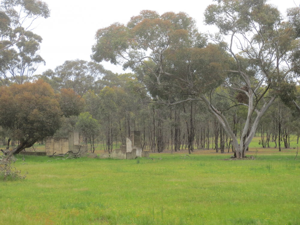 Remains of a camp at Tatura (Image    ©    Anoma Pieris)