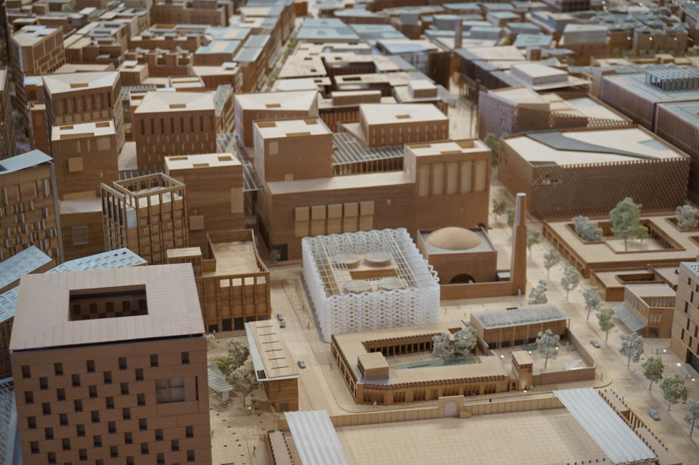 Comfort Futures_Model of Msheireb Downtown Doha (Image © Jiat-Hwee Chang)