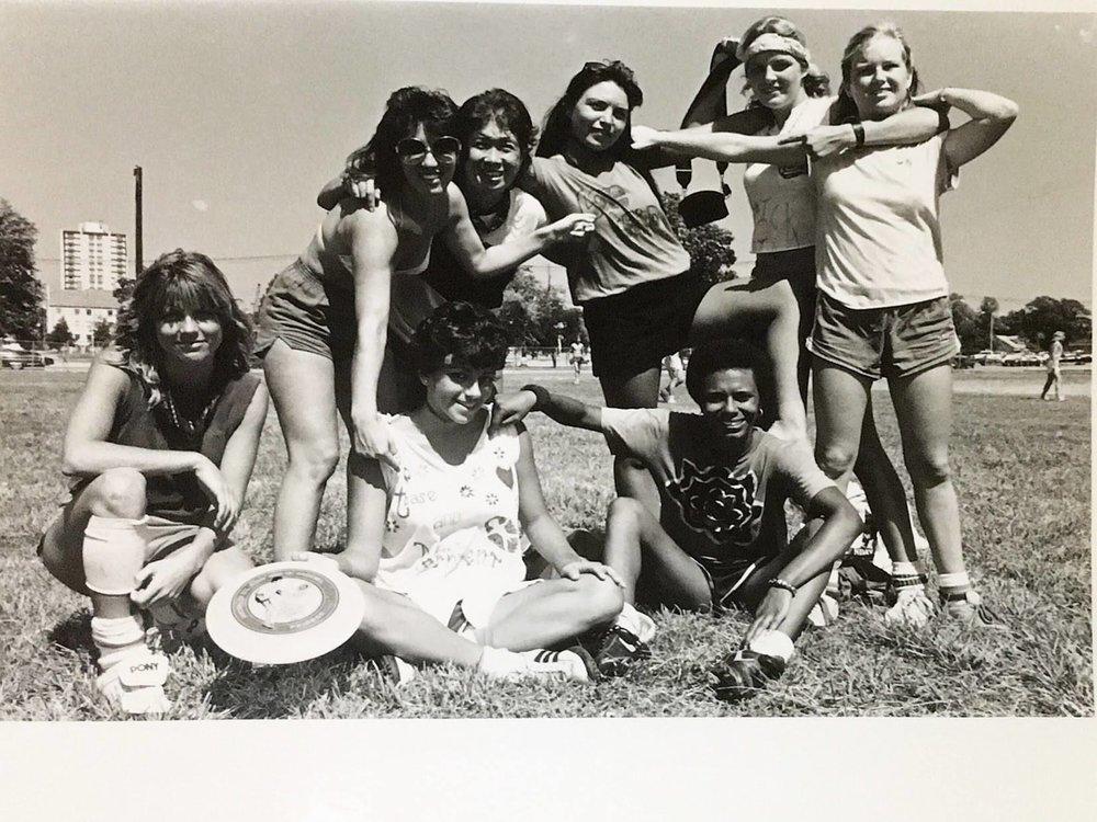 """The Supremes,"" Austin, TX 1983"
