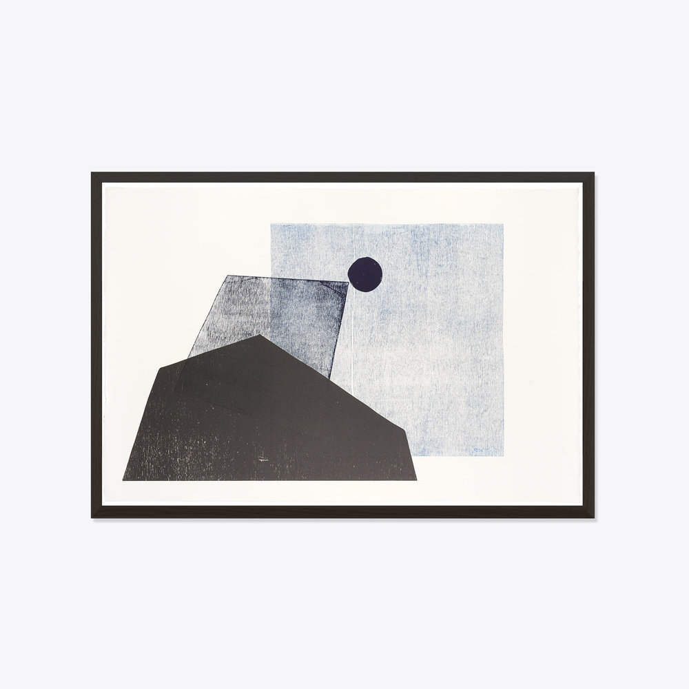 Modern Times  Midnight Shadows, Original Print by Ellie Malin