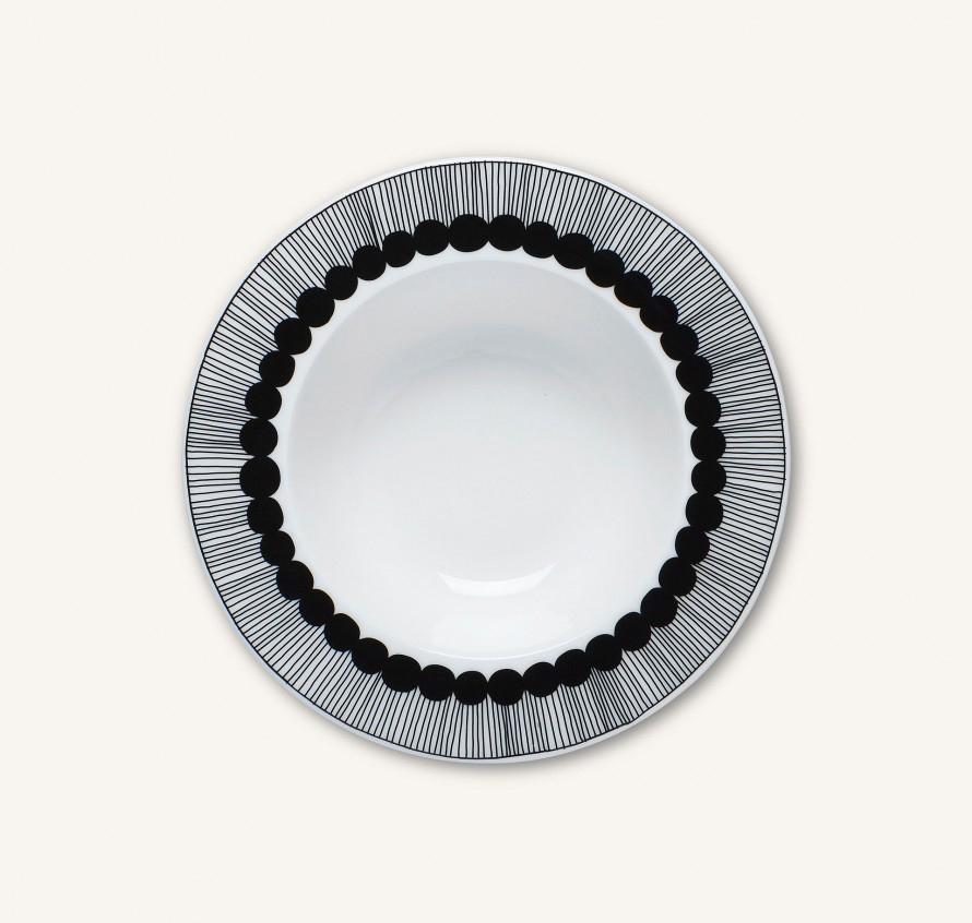 Marimekko  Oiva/Siirtolapuutarha deep plate