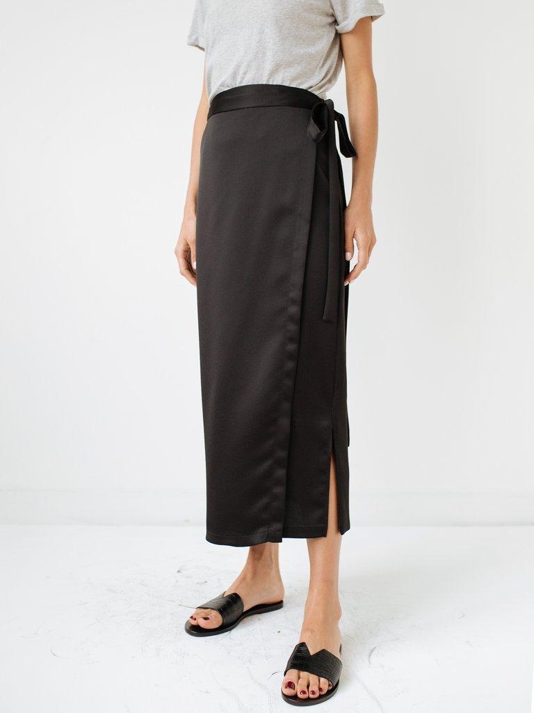 Kacey Devlin  Utility Mid Wrap Skirt