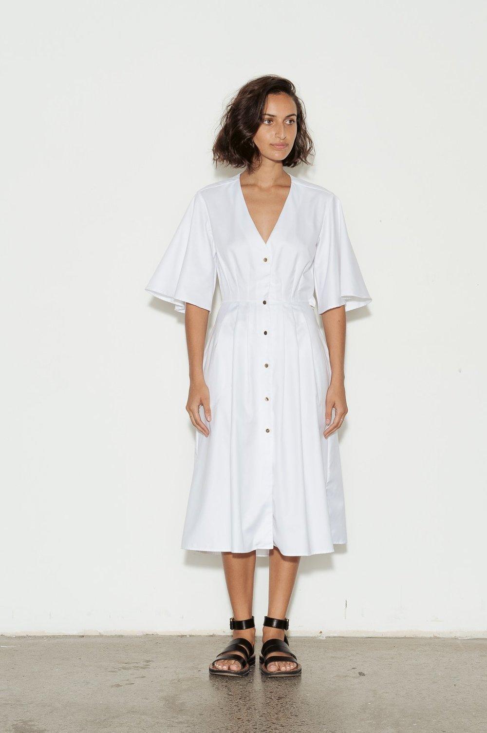 Anna Quan  Olive Dress