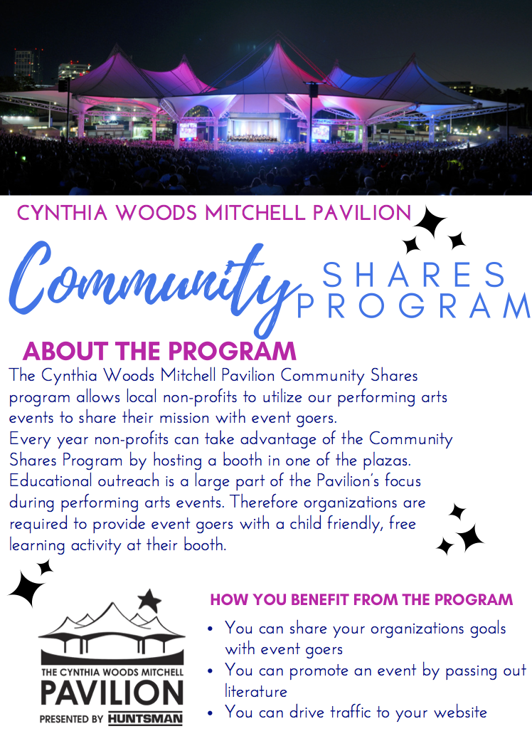 Community Shares Program Flyer