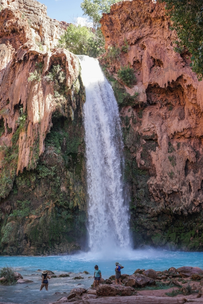 The much-photographed havasu falls.