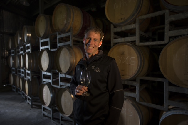 Wine maker Robert Diletti