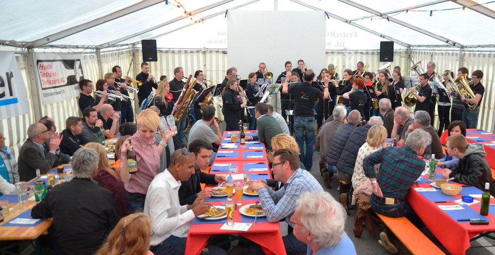 Festzelt_Catering Lädeli Restaurant-Bahnhöfli_Ebikon