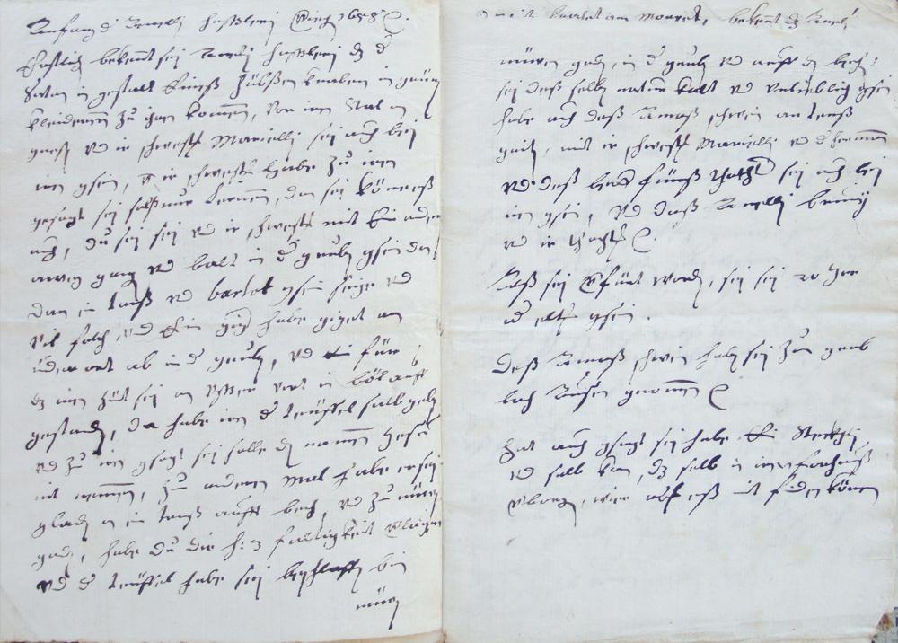 Die Hexenprozessakten aus dem 17. Jahrhundert liegen im Gemeindearchiv.