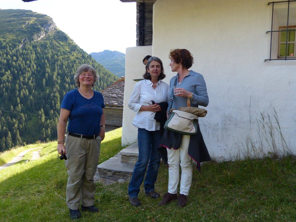 Foto Ina Boesch, Liz Langemann, Gioia Hofmann
