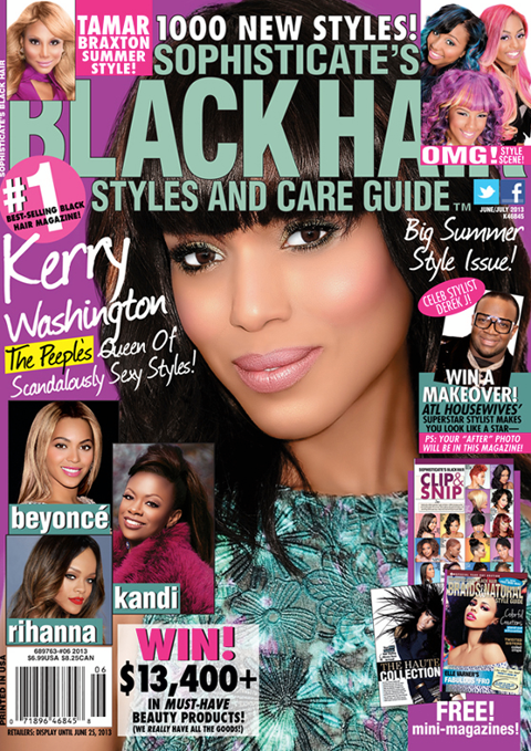 Sophisticates Black Hair Care Guide Summer 2013