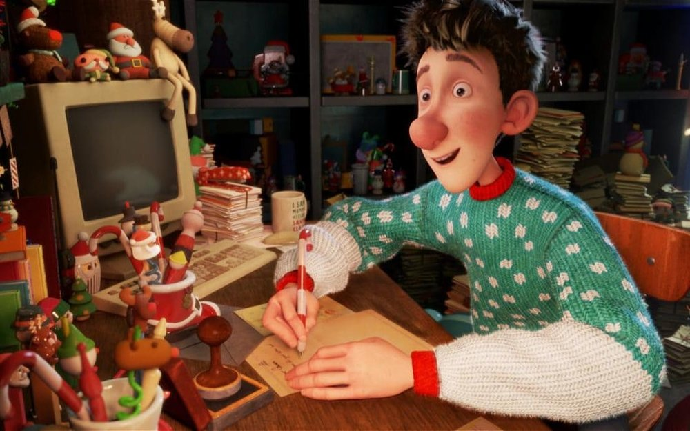 5. Arthur Christmas - This has to be the best children's film to watch at Christmas. We love it in our house. Santa's son, Arthur goes on a mission with his grandfather to deliver a misplaced gift in less than 2 hours.
