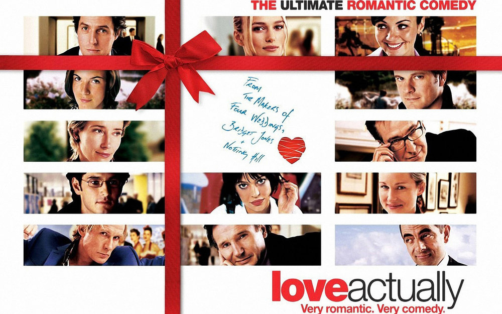 3. Love Actually - You can't really go wrong with Richard Curtis, he ticks all the romantic comedy boxes and Love Actually is no exception - with a sprinkling of Christmasy sweetness that's probably a bit sickly but we'll let it slide, I mean, it's Christmas.Several lives interwine with the focus being on all different kinds of love in the lives of ordinary people and their families.