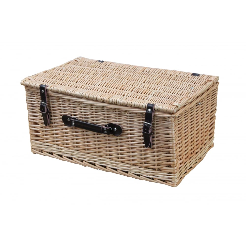 The Basket Company - This really is what you think of when you hear 'hamper' but it doesn't have to be this extravagent. Classic Wicker Storage Trunk - Hamper Basket £12.50