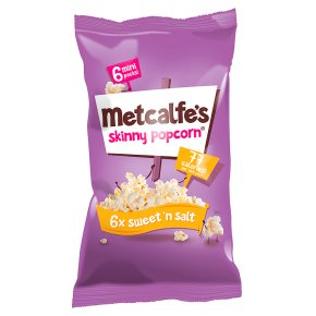 Metcalfe's  - This popcorn is still yummy and if you haven't had sweet and salted you are missing out. The perfect movie night addition. £1.50 from Waitrose.