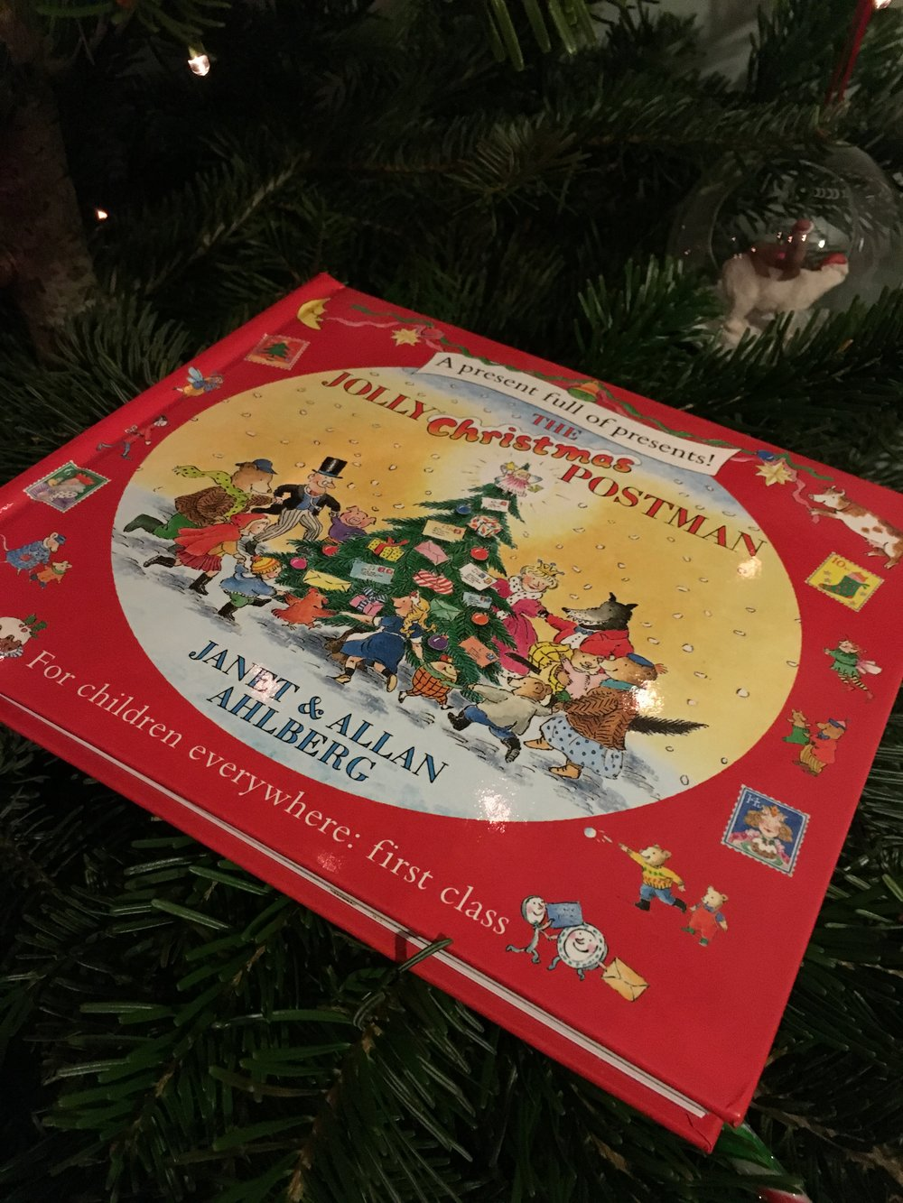 The Jolly Christmas Postman - By Janet & Allan Ahlberg  - This book is lovely, with interactive bits for the children to pull out and look at such as letters and cards. It integrates classic fairytales such as Goldilocks and Jack & the Beanstalk which many children will recognise.