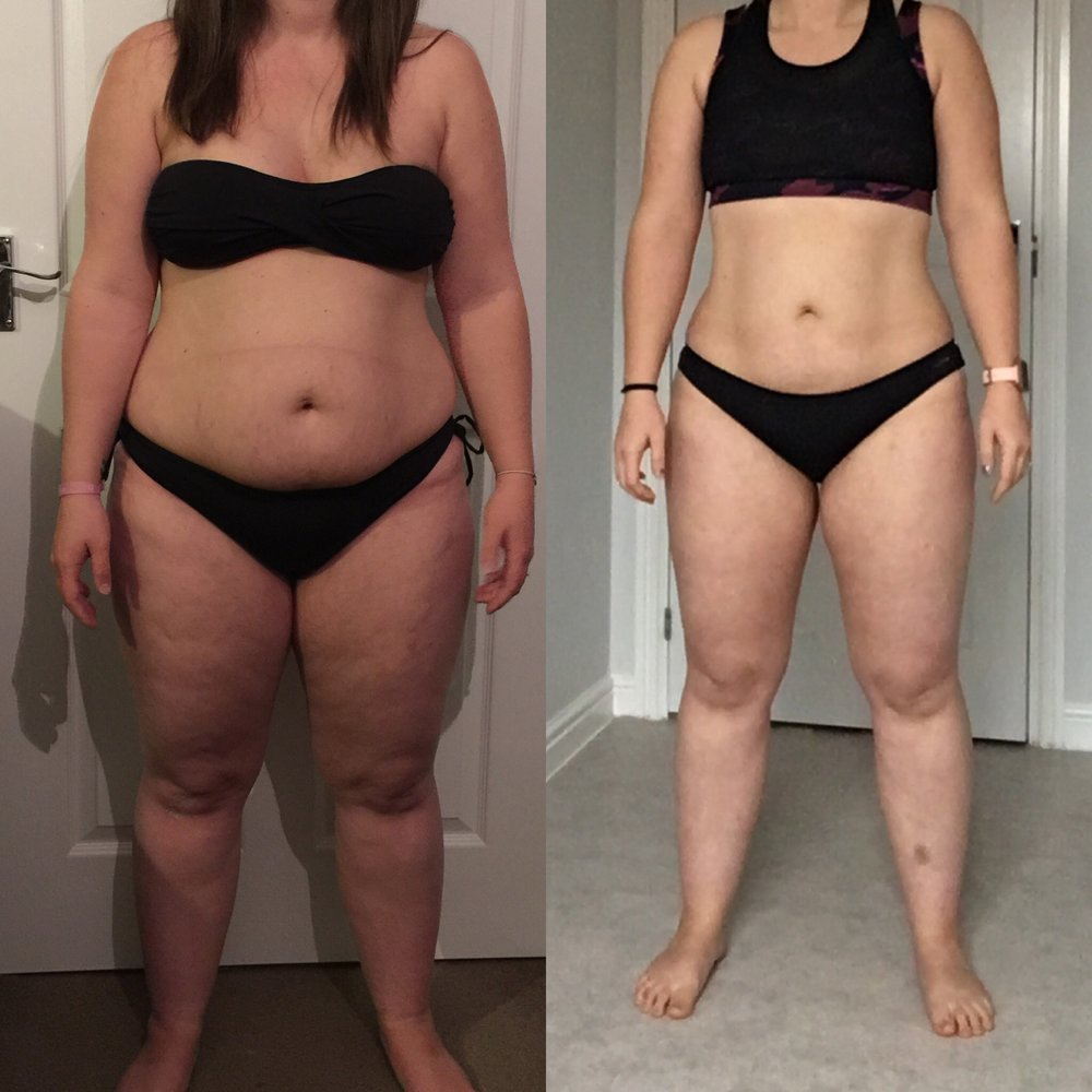 Left: 2016 first plan photo. Right: Beginning of Cycle One February 2018